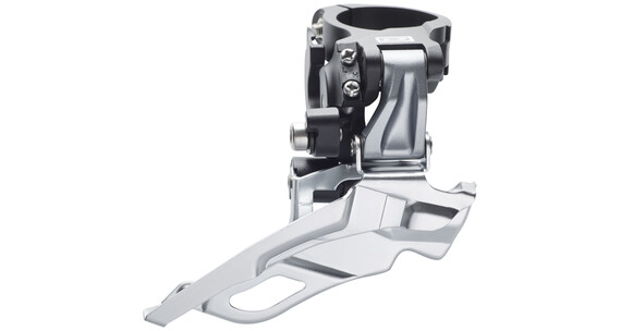 Shimano Deore FD-M611 Forskifter 3-speed Down-Swing sølv